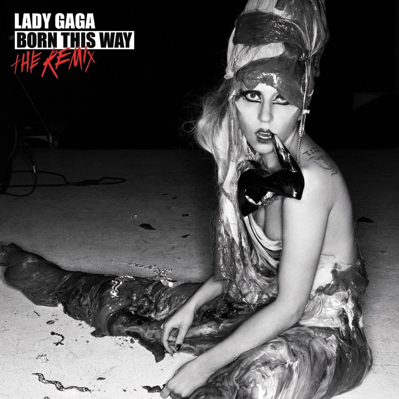 Lady GaGa - Born This Way - The Remix album cover