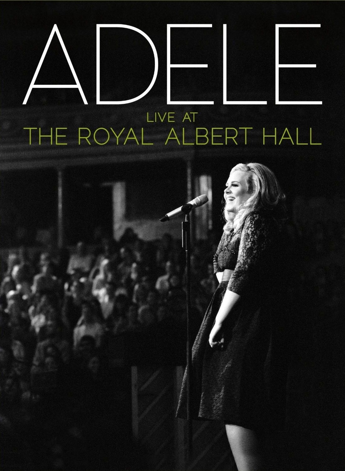 Adele - Live At The Royal Albert Hall album cover