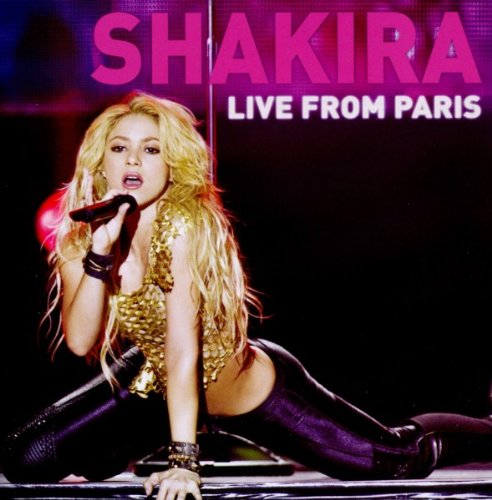 Shakira - Live From Paris album cover