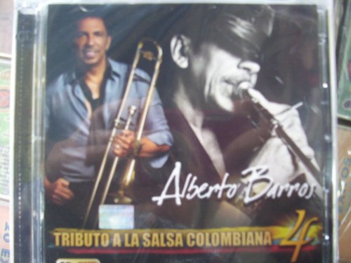 Alberto Barros - Tributo A La Salsa Colombiana Volume 4 album cover