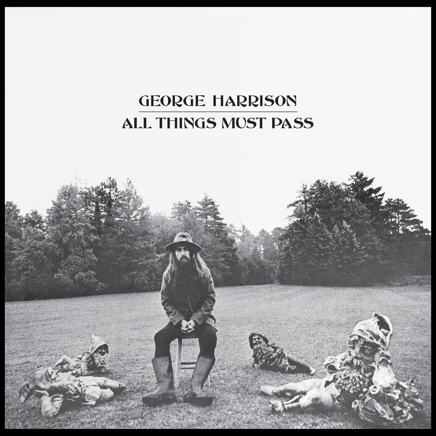 George Harrison - All Things Must Pass album cover