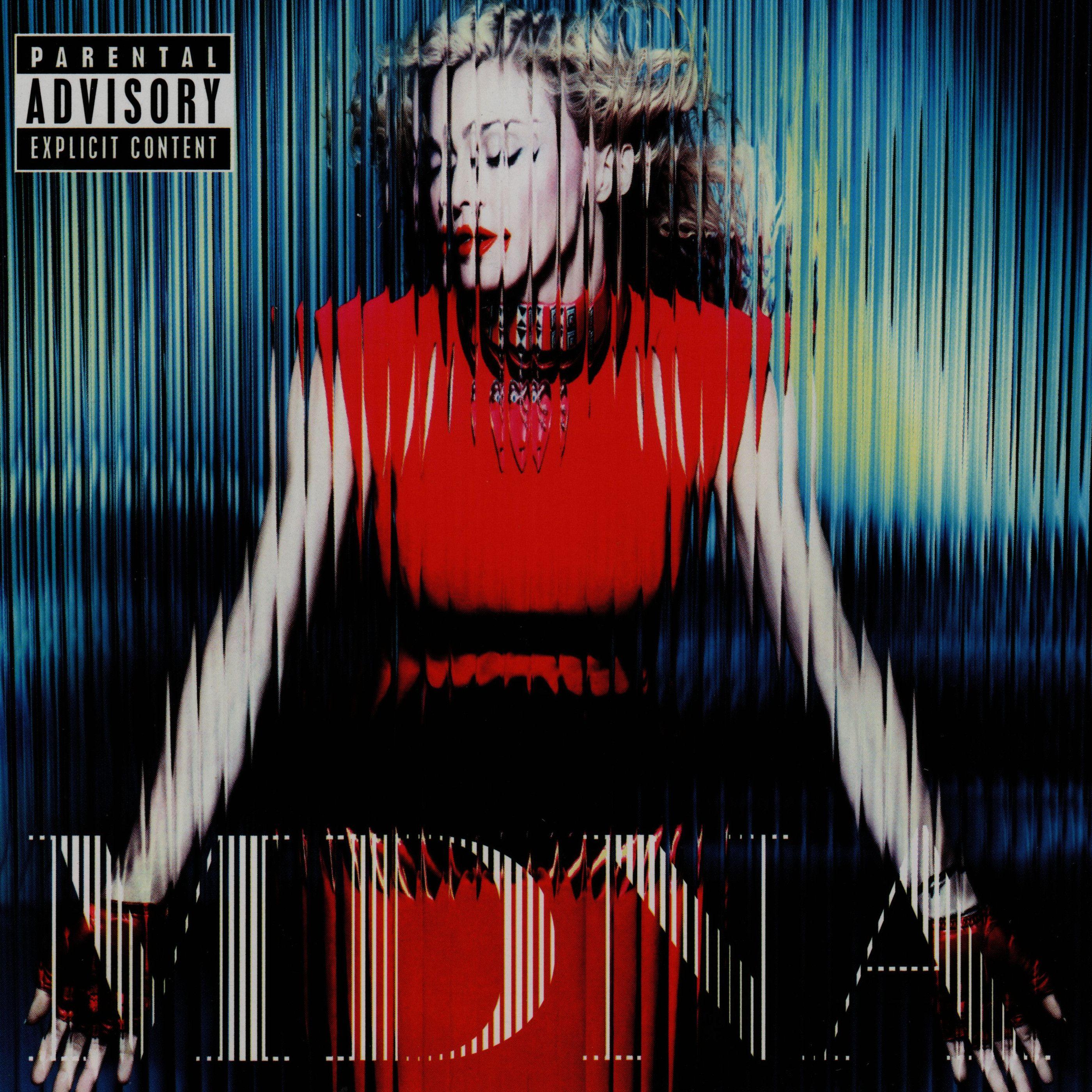 Madonna - MDNA album cover