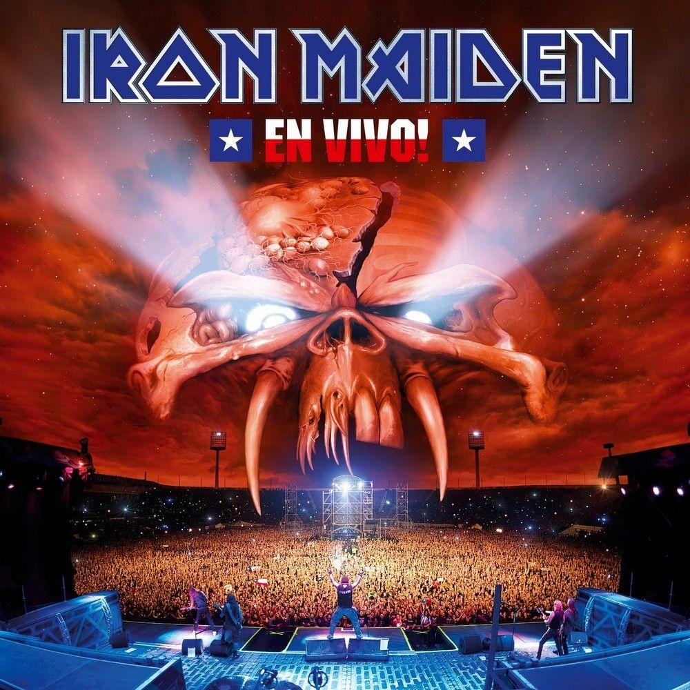 Iron Maiden - En Vivo! album cover