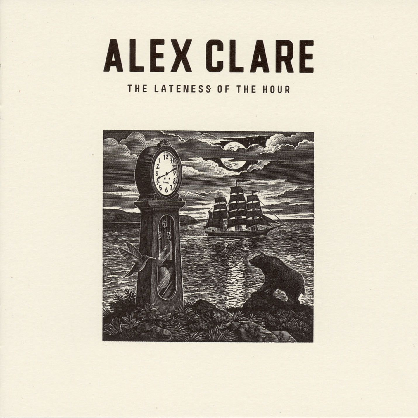 Alex Clare - The Lateness Of The Hour album cover