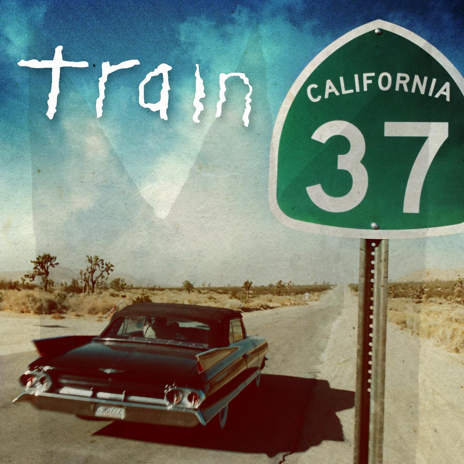 Train - California 37 album cover