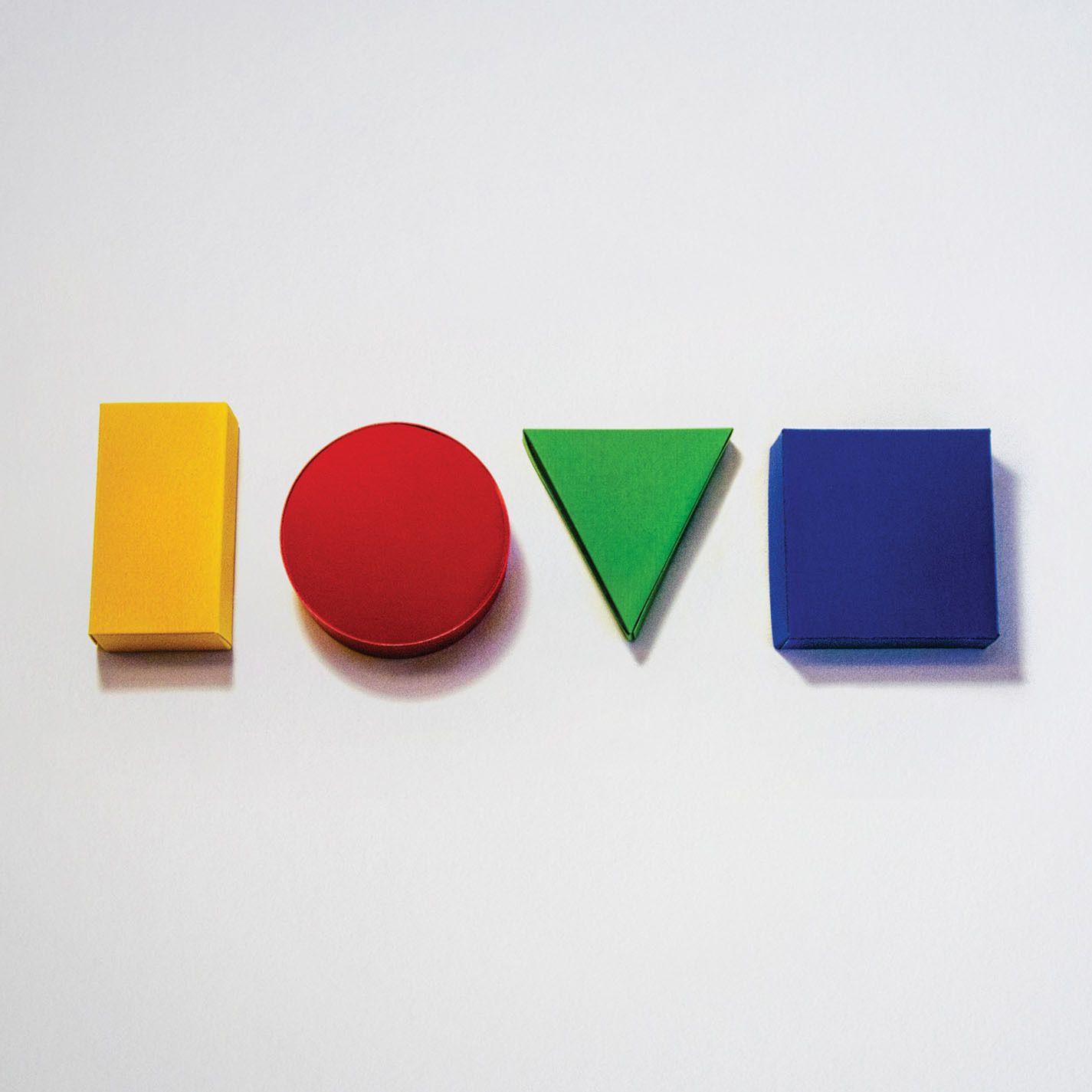 Jason Mraz - Love Is A Four Letter Word album cover