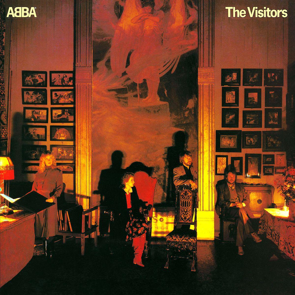 ABBA - The Visitors (deluxe edition) album cover