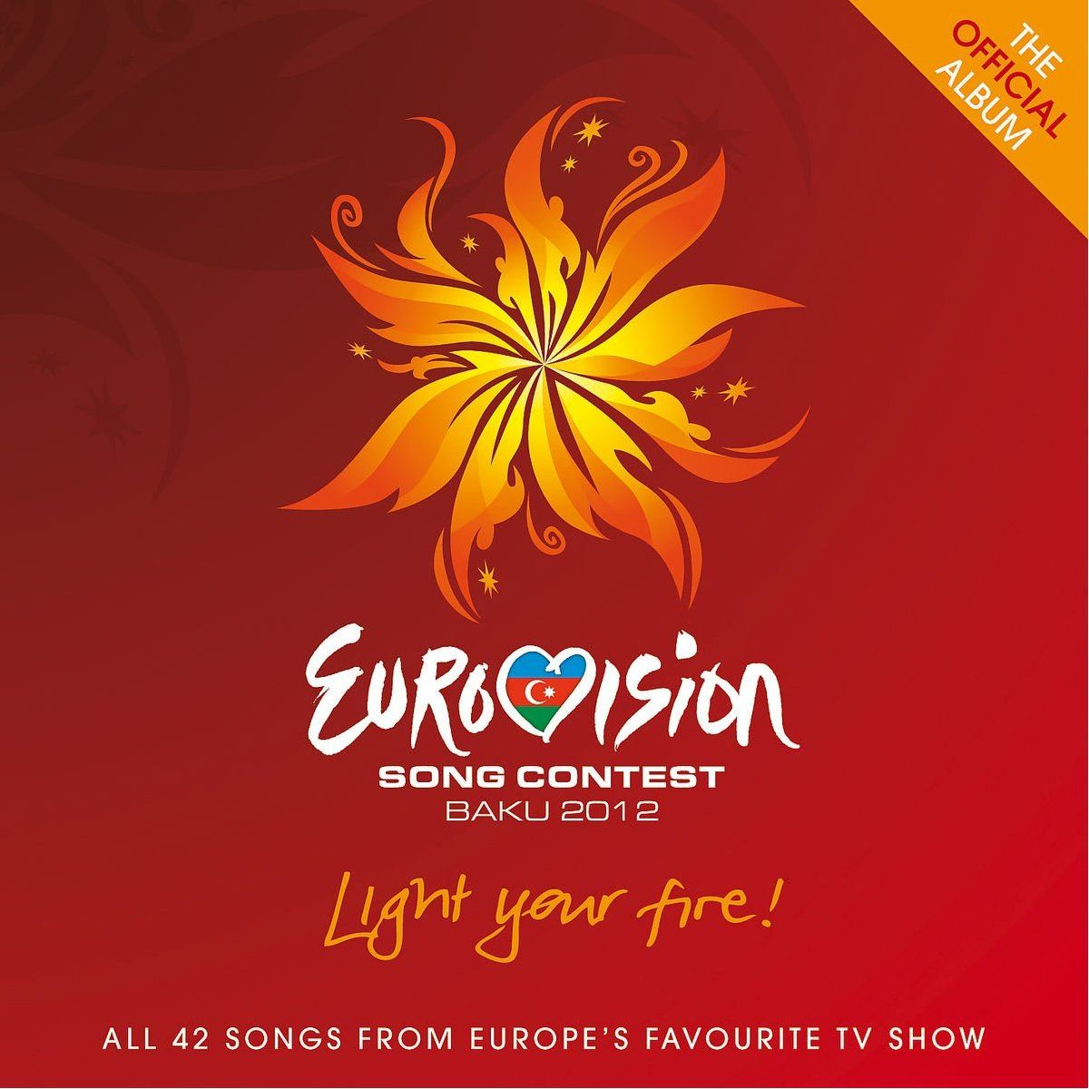 Various Artists - Eurovision Song Contest - Baku 2012 album cover