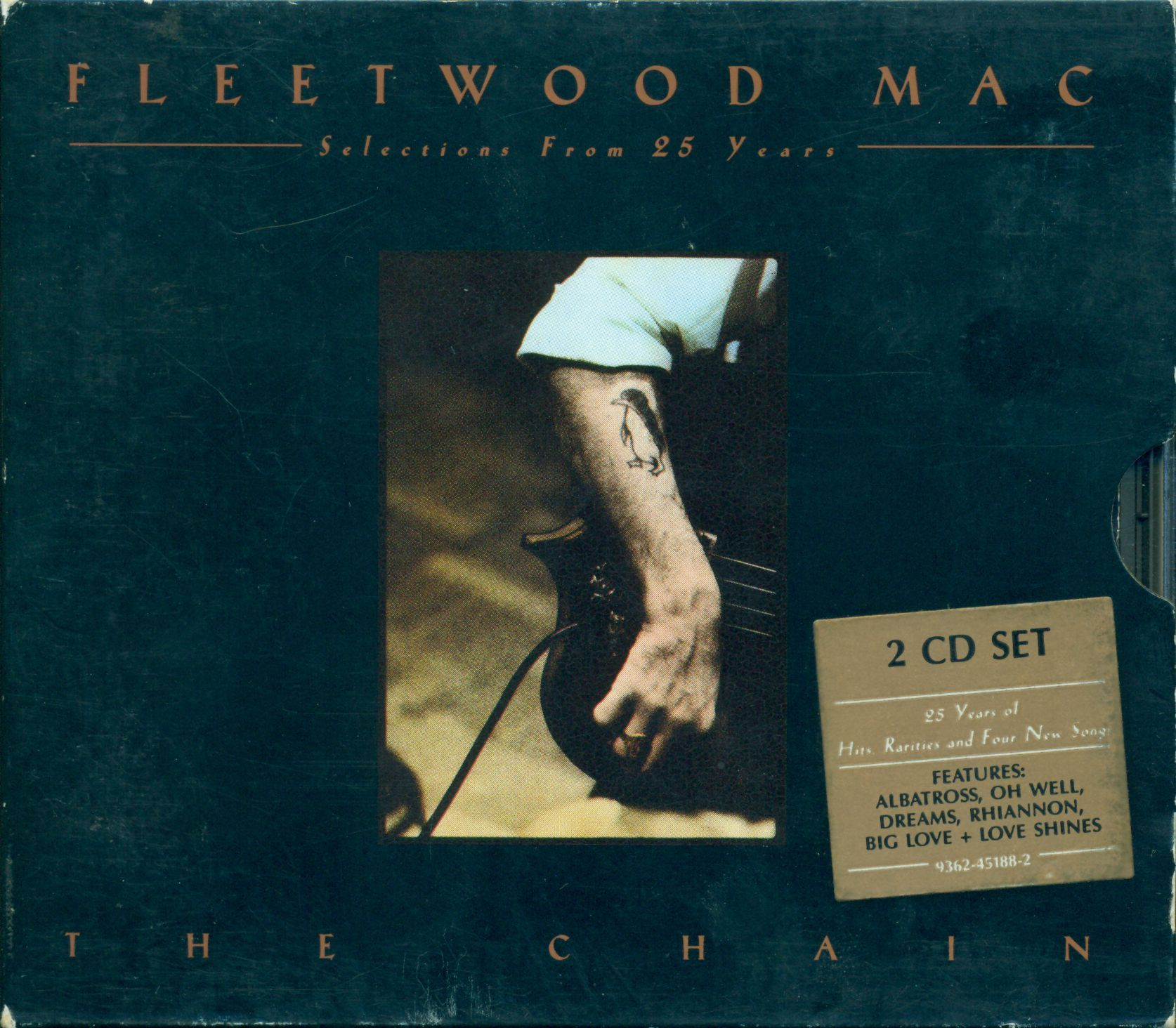 Fleetwood Mac - 25 Years - The Chain album cover