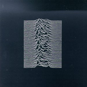 Joy Division - Unknown Pleasures album cover