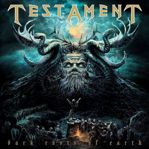 Testament - Dark Roots Of Earth album cover