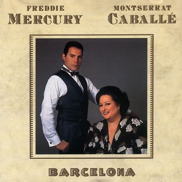 Freddie Mercury - Barcelona album cover