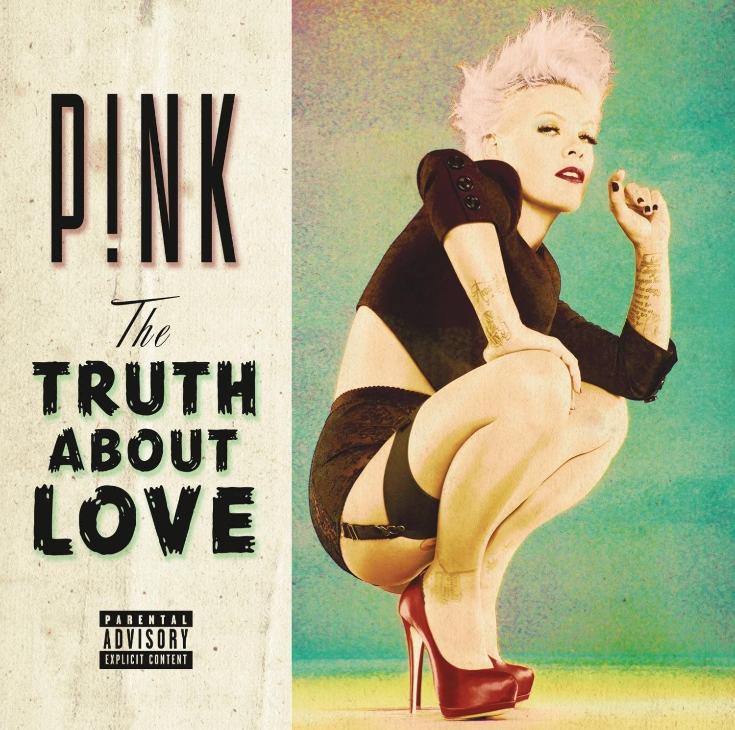 P!nk - The Truth About Love album cover