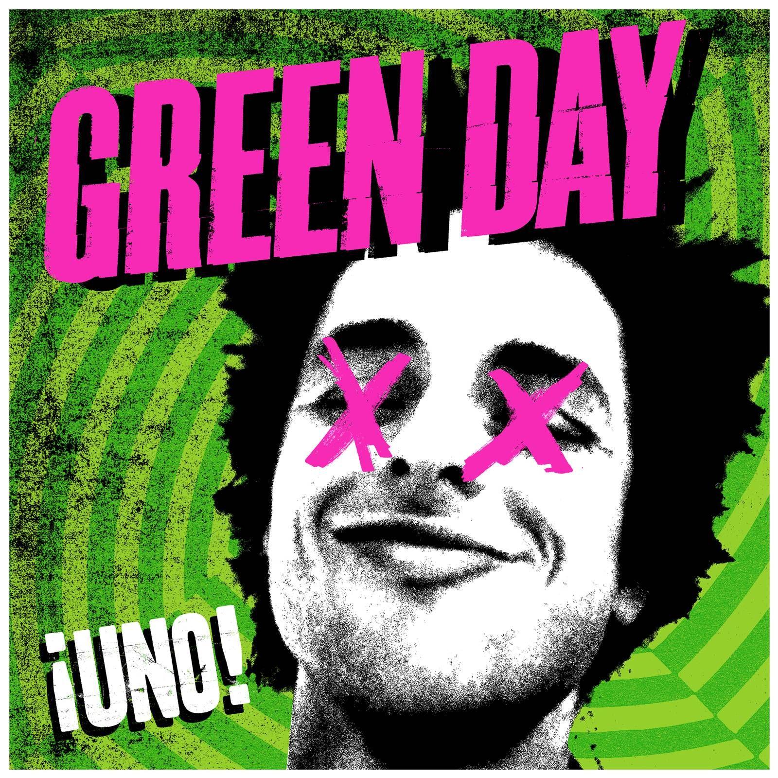 Green Day - ¡uno! album cover