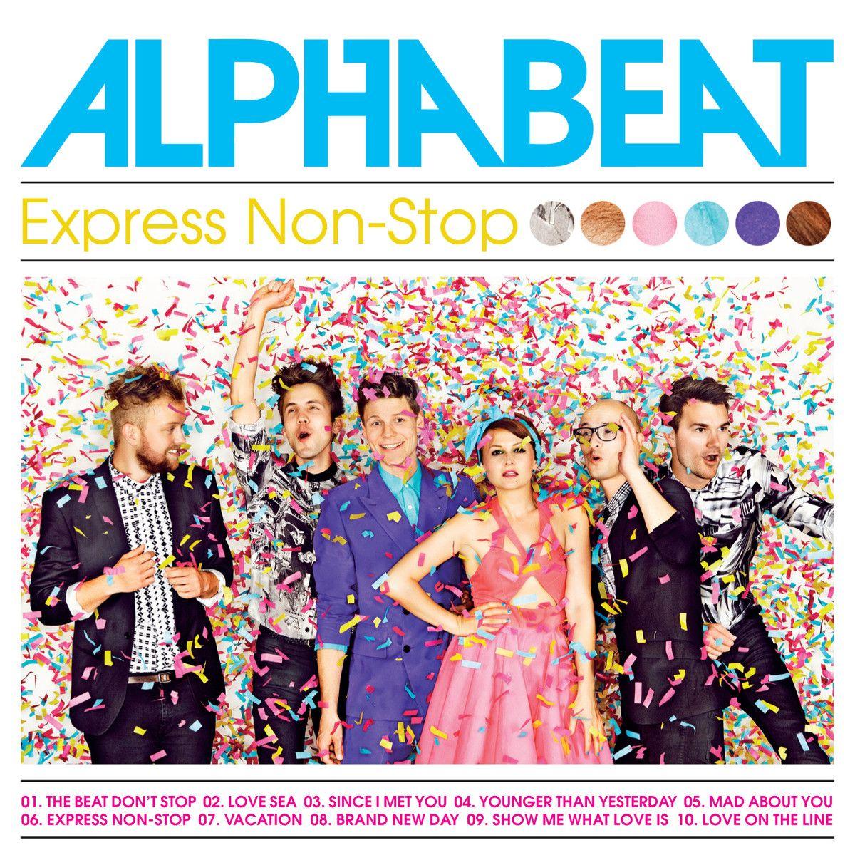 Alphabeat - Express Non-stop album cover