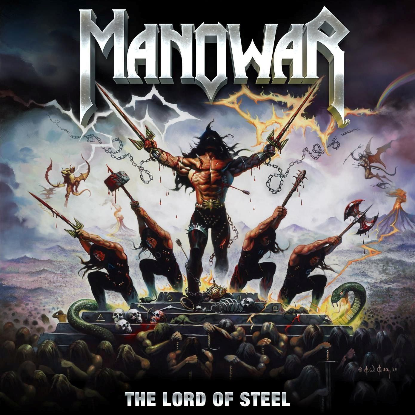 Manowar - The Lord Of Steel album cover