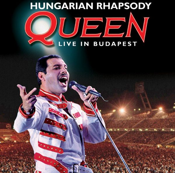 Queen - Hungarian Rhapsody: Queen Live In Budapest album cover