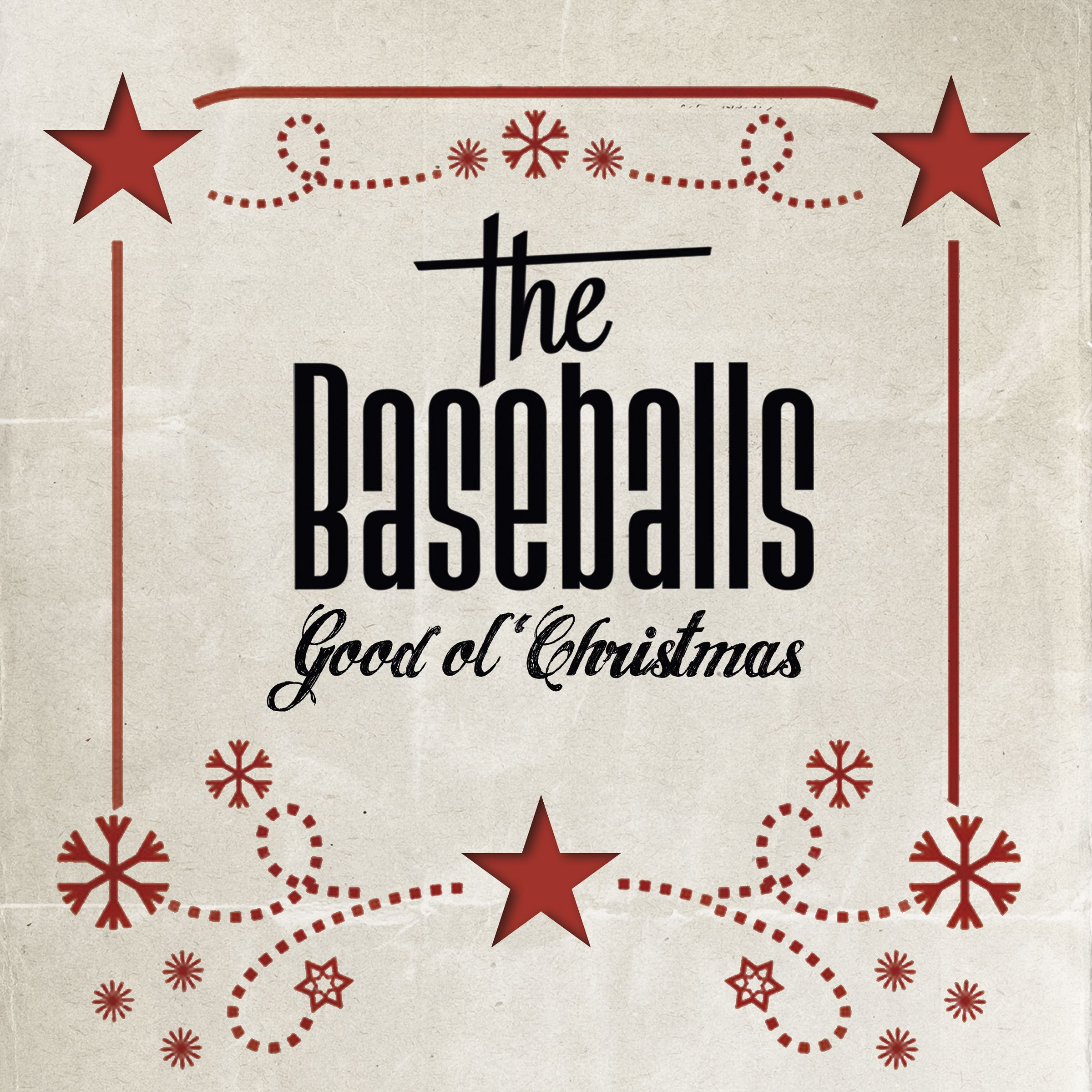 The Baseballs - Good Ol' Christmas album cover