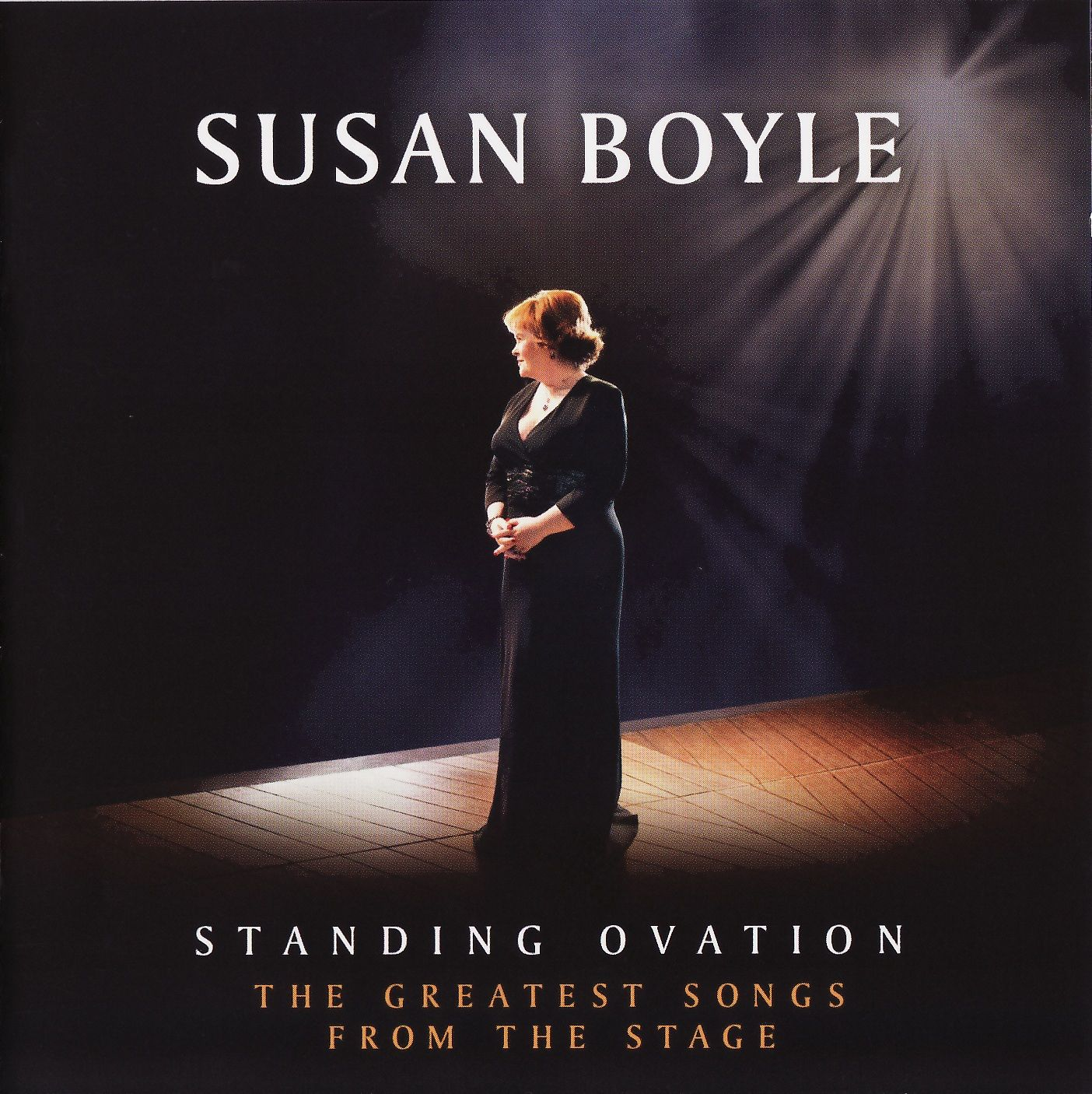 Susan Boyle - Standing Ovation: The Greatest Songs From The Stage album cover