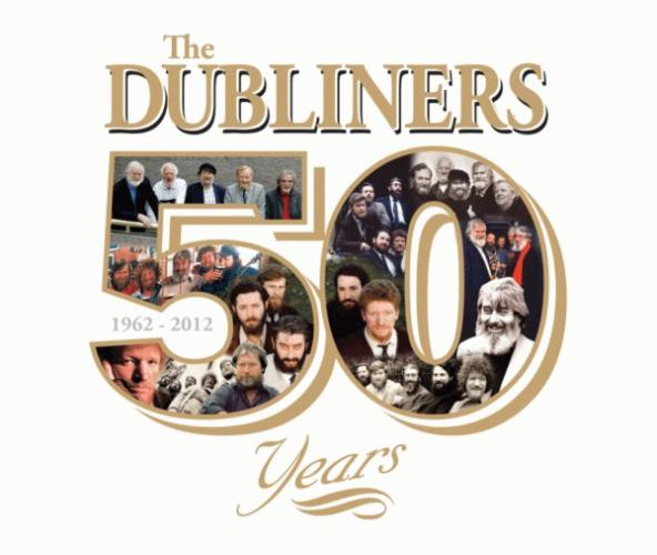 The Dubliners - 50 Years album cover