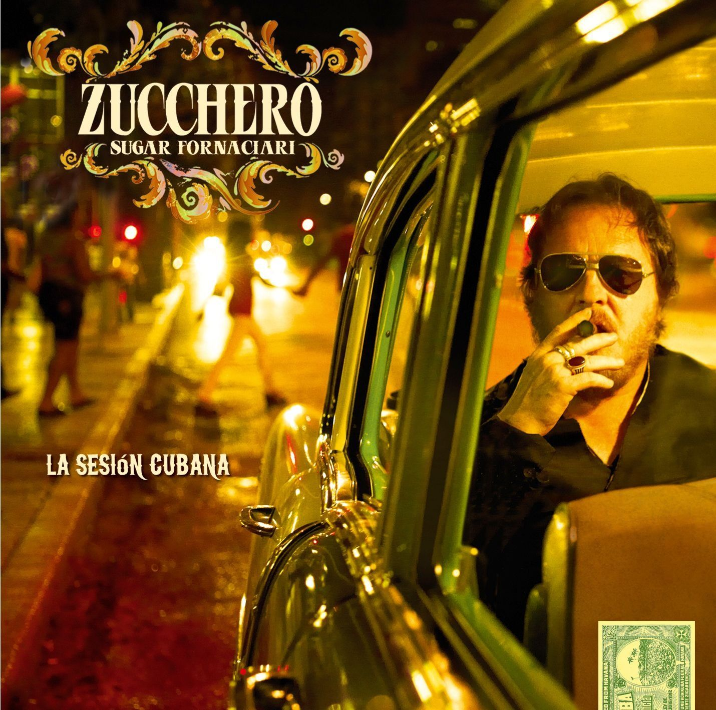 Zucchero 'Sugar' Fornaciari - La Sesión Cubana album cover