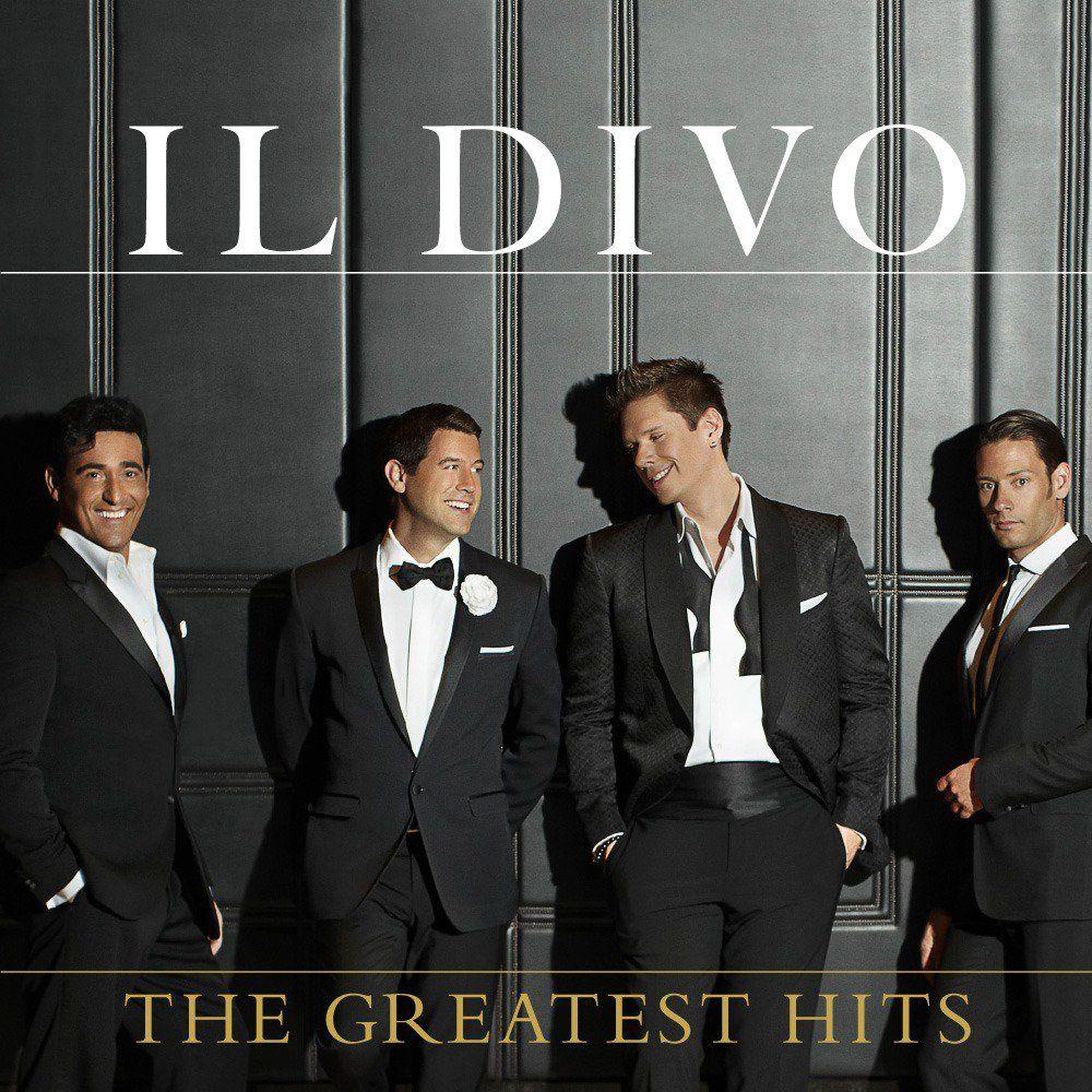 Il Divo - The Greatest Hits album cover
