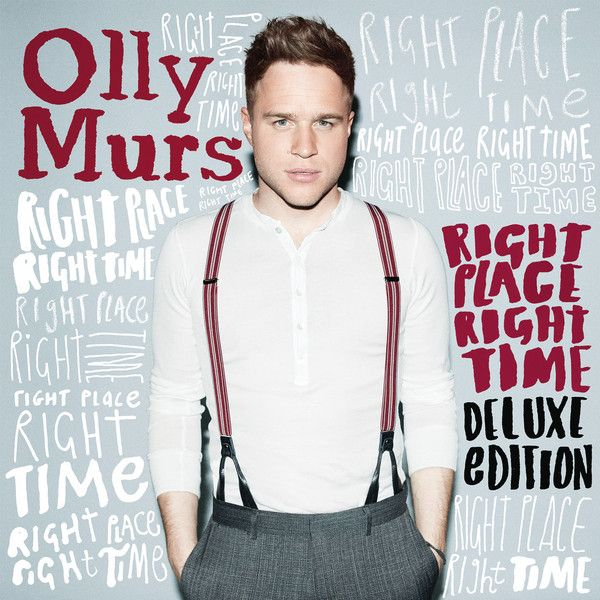 Olly Murs - Right Place Right Time album cover