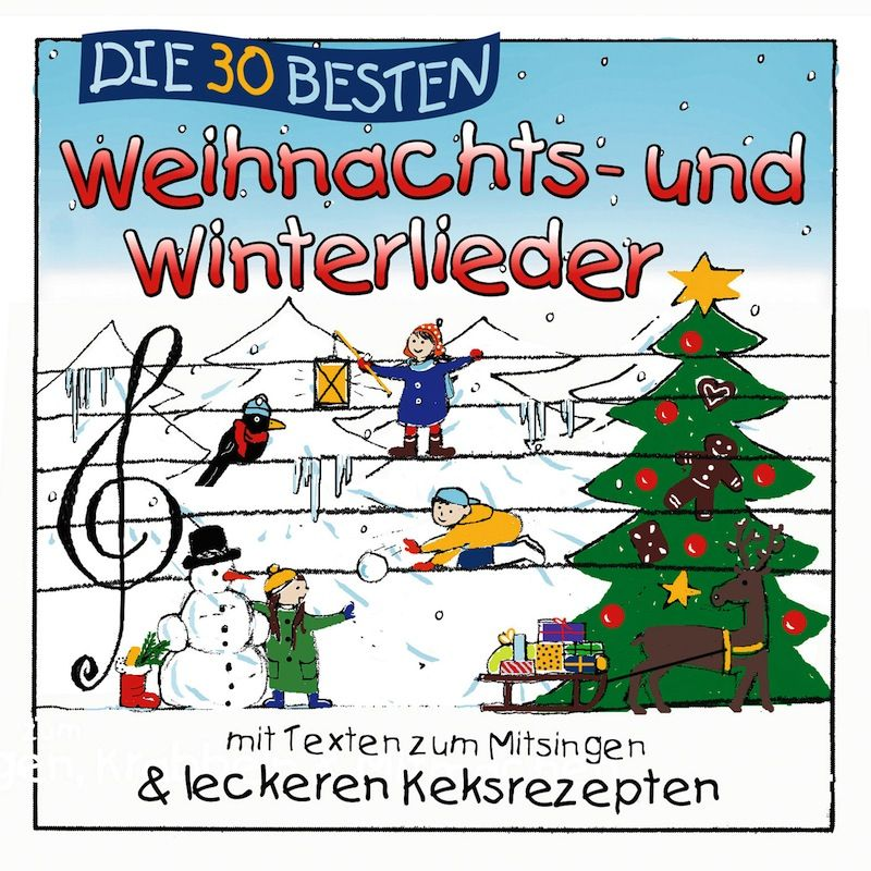 Simone Sommerland - Die 30 Besten Weihnachts- Und Winterlieder album cover