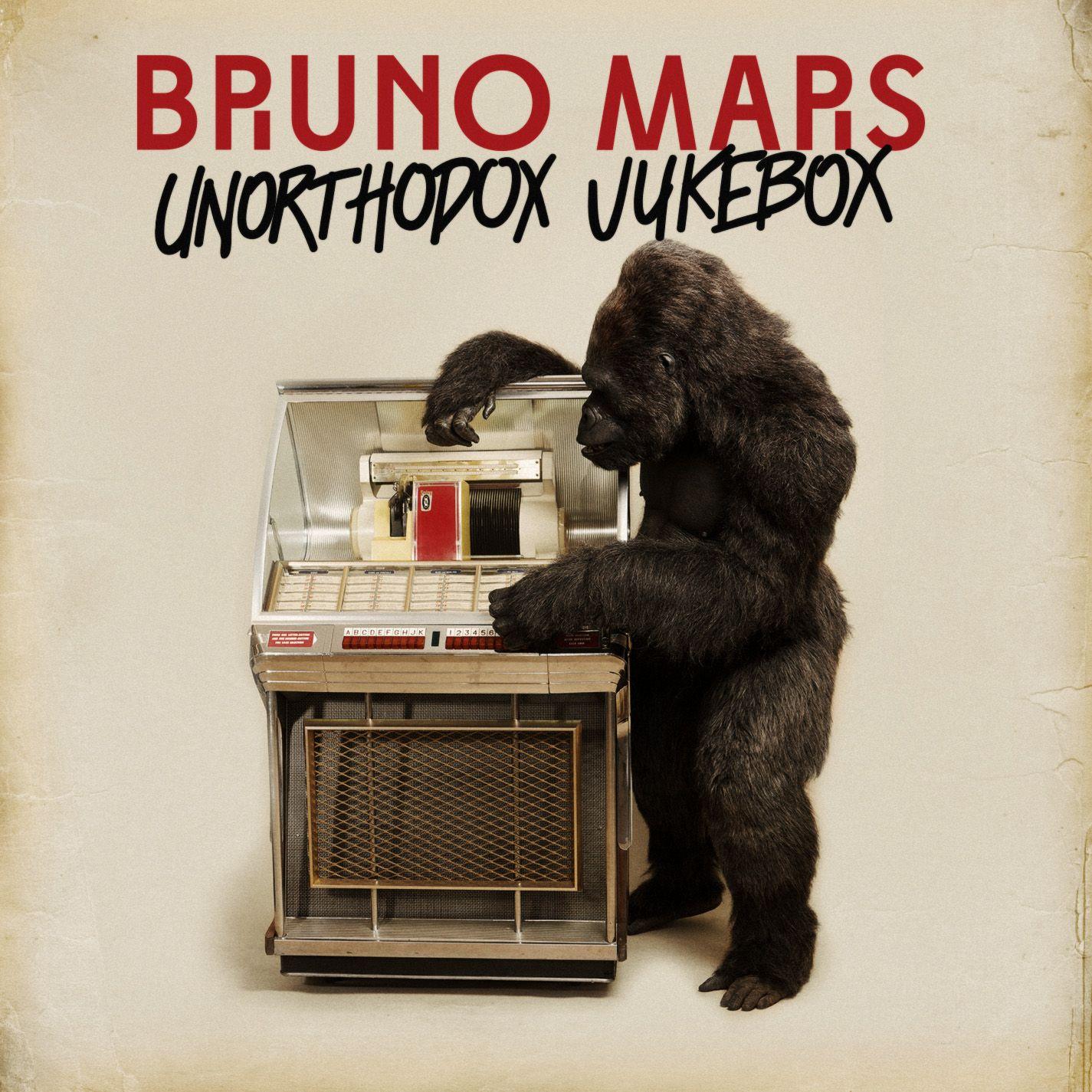 Bruno Mars - Unorthodox Jukebox album cover