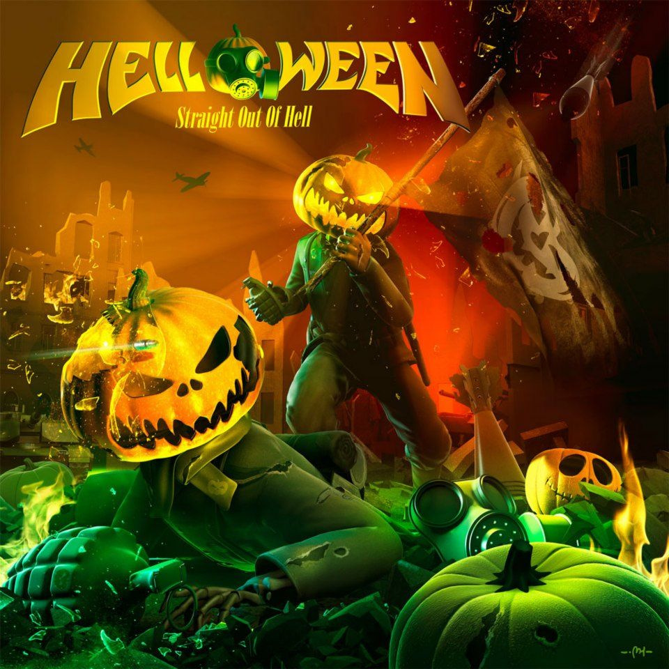 Helloween - Straight Out Of Hell album cover