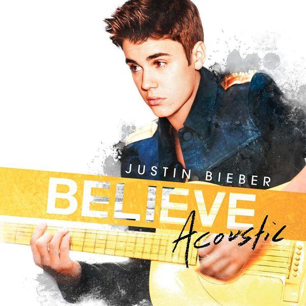 Justin Bieber - Believe Acoustic album cover