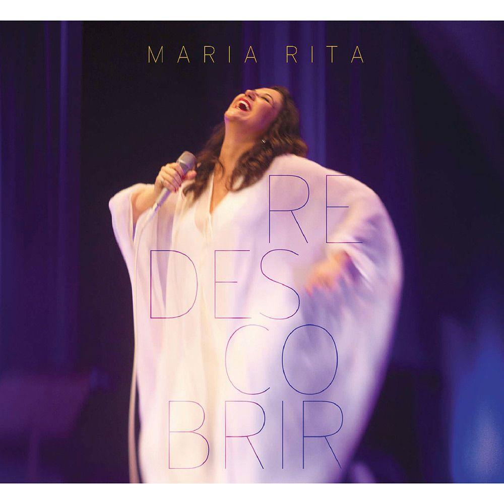Maria Rita - Redescobrir album cover