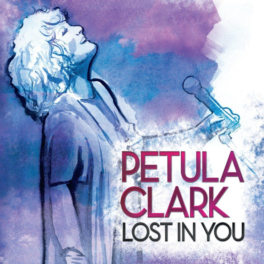 Petula Clark - Lost In You album cover