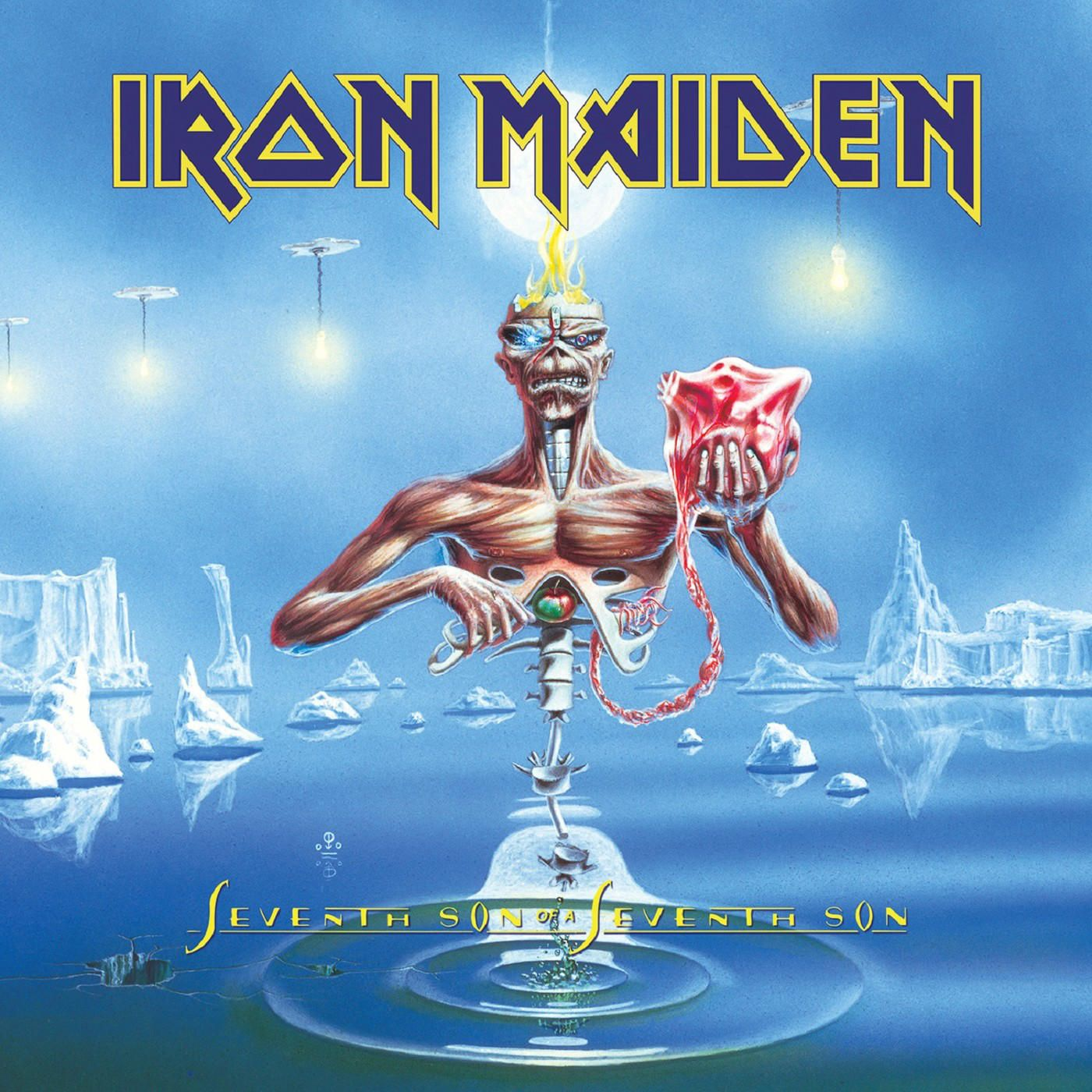 Iron Maiden - Seventh Son Of A Seventh Son album cover