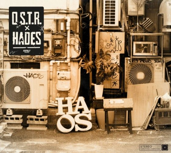 O.s.t.r. - Haos album cover