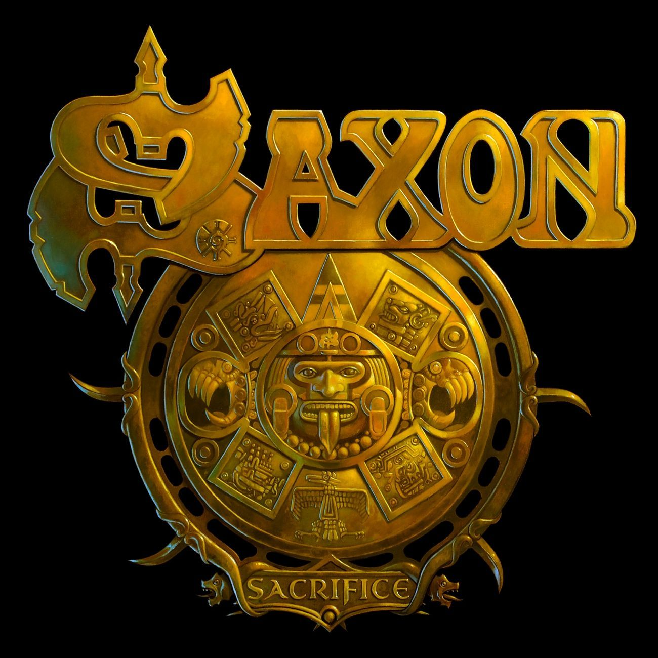 Saxon - Sacrifice album cover
