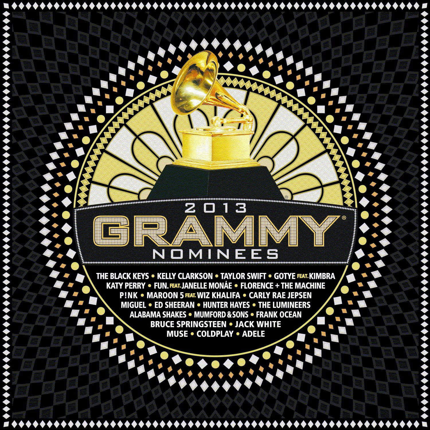 Various Artists - 2013 Grammy Nominees album cover