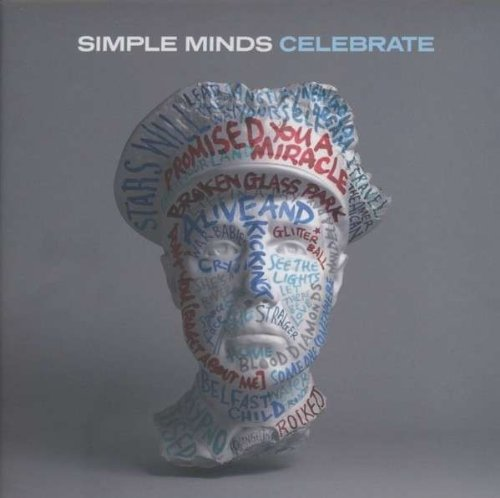 Simple Minds - Celebrate - The Greatest Hits album cover