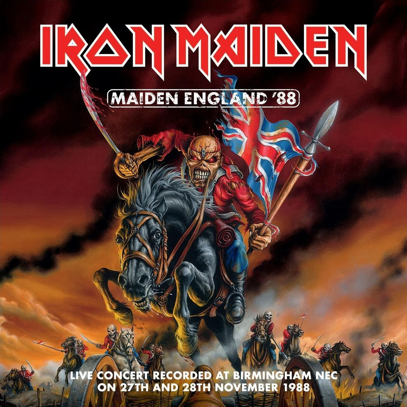 Iron Maiden - Maiden England '88 album cover
