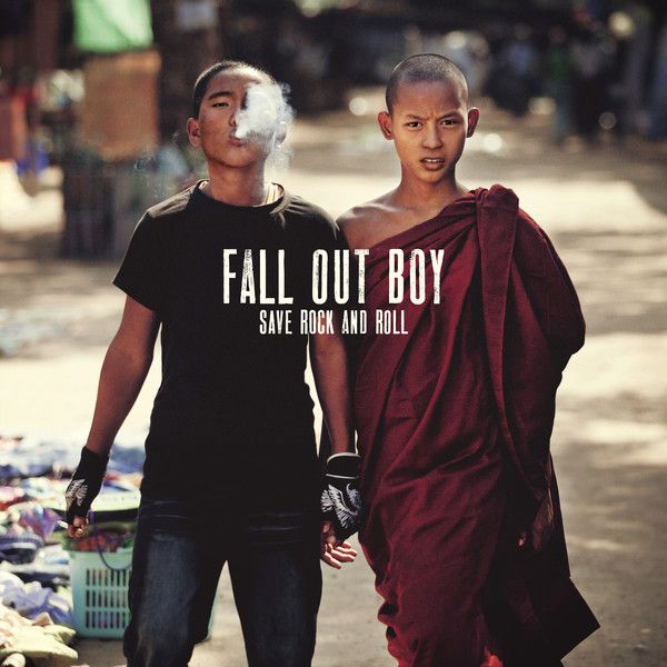 Fall Out Boy - Save Rock And Roll album cover