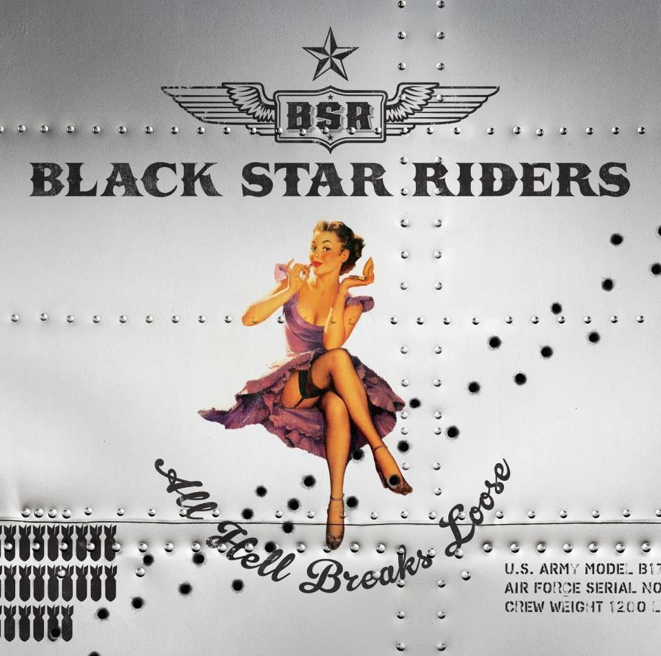 Black Star Riders - All Hell Breaks Loose album cover