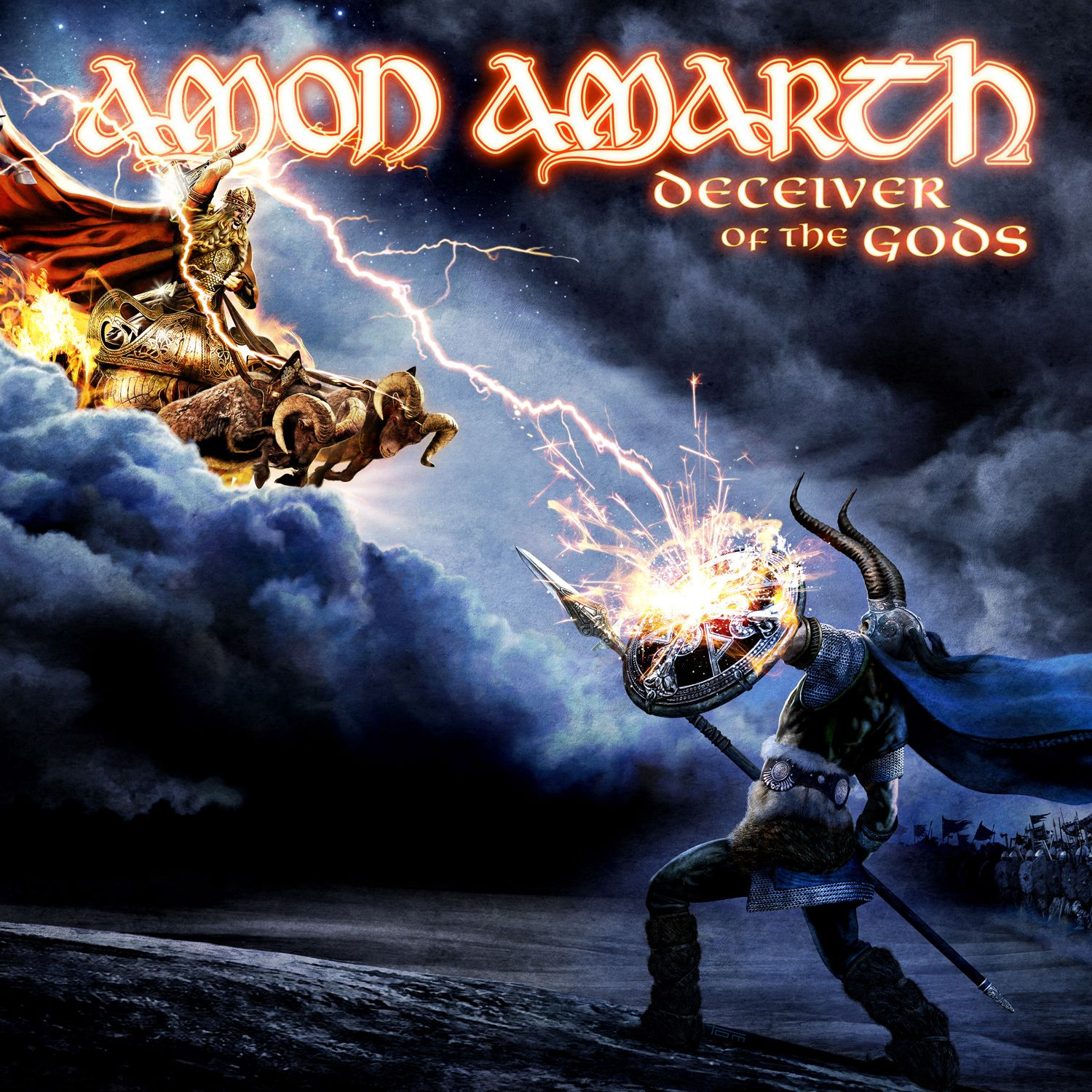 Amon Amarth - Deceiver Of The Gods album cover