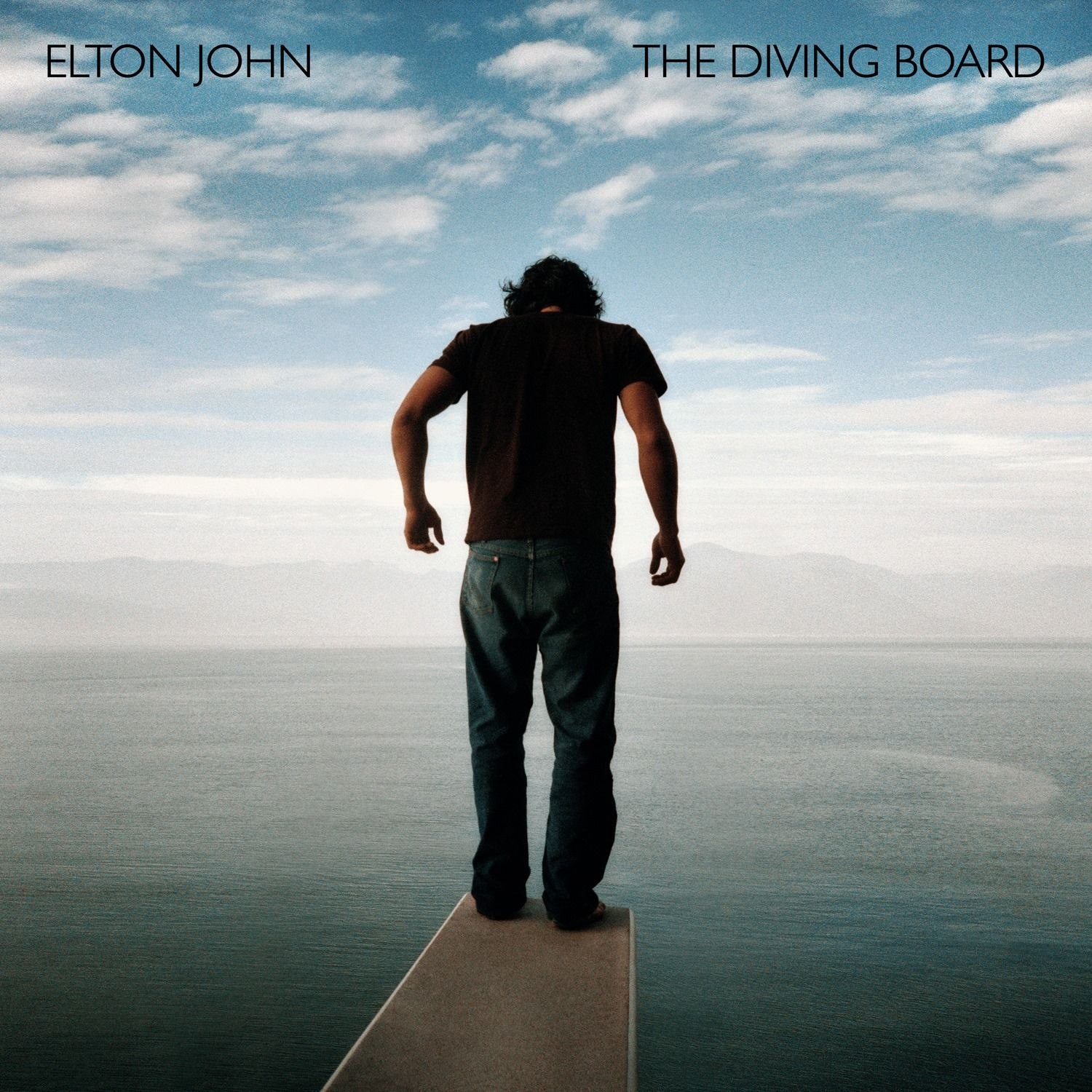 Elton John - The Diving Board album cover