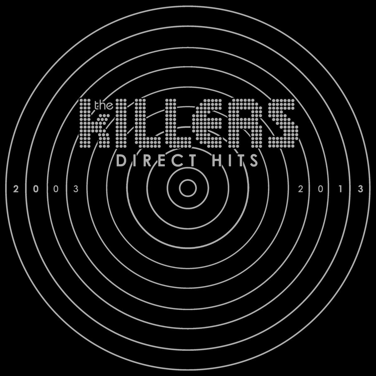 The Killers - Direct Hits album cover