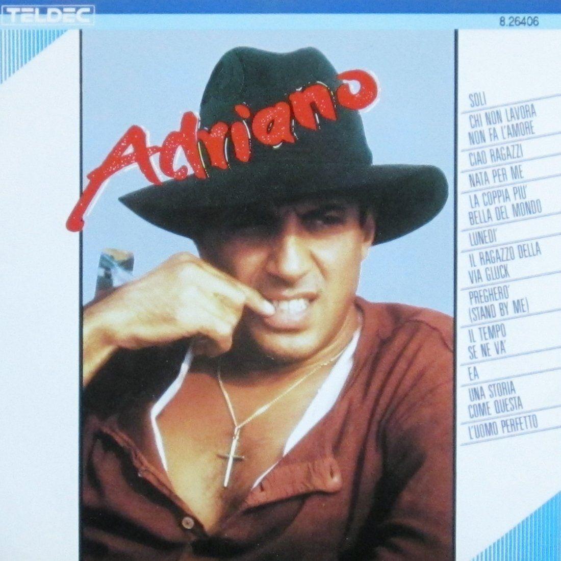 Adriano Celentano - ...adriano album cover