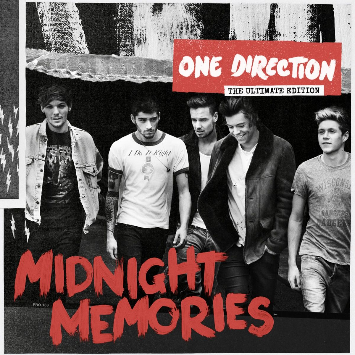 One Direction - Midnight Memories album cover