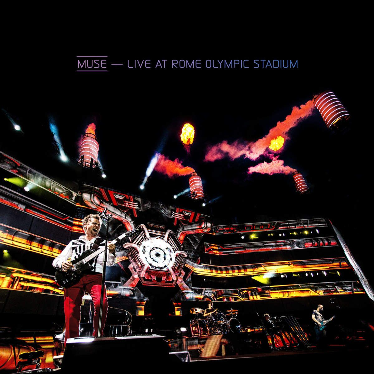 Muse - Live At Rome Olympia Stadium album cover