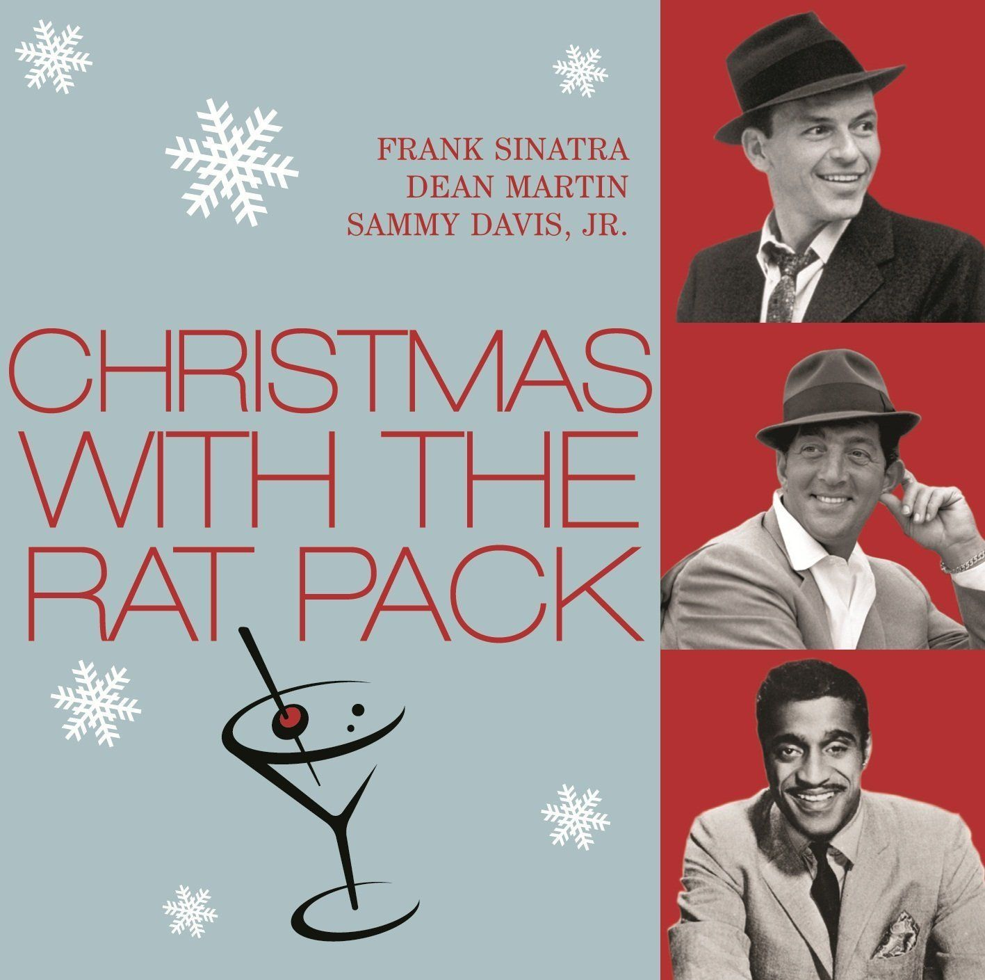 Frank Sinatra - Christmas With The Rat Pack album cover
