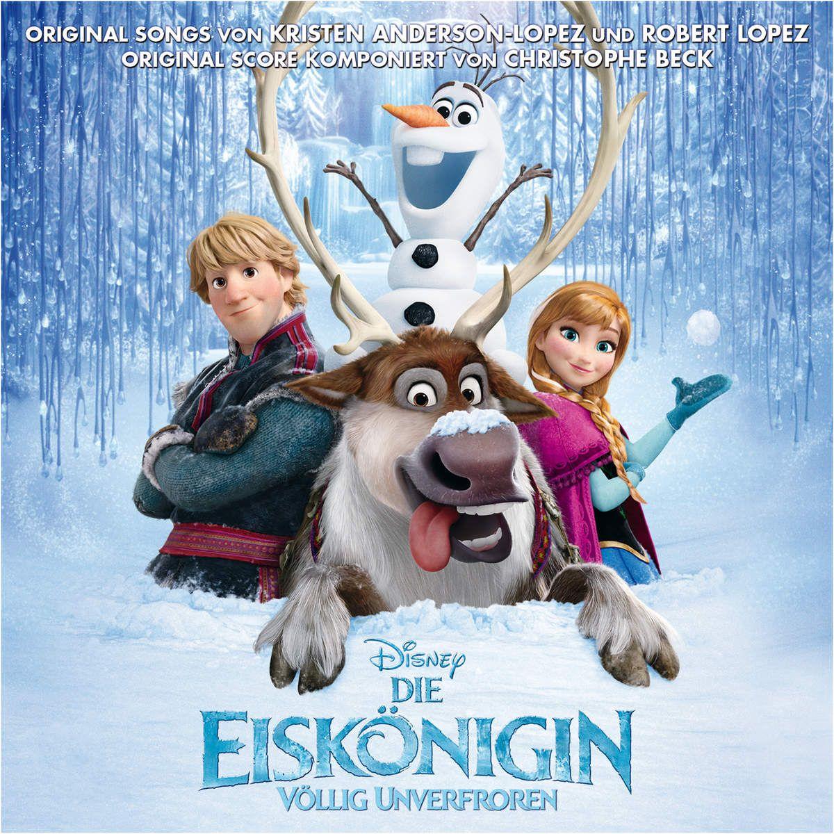 Soundtrack - Die Eiskönigin - Völlig Unverfroren album cover
