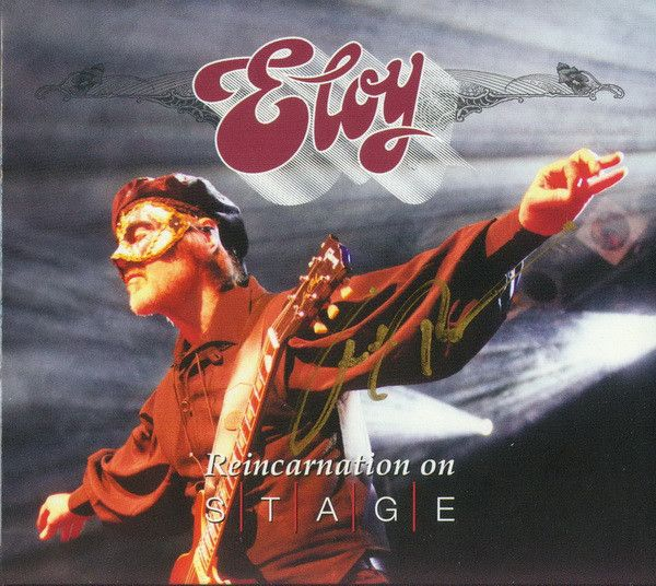 Eloy - Reincarnation On Stage album cover